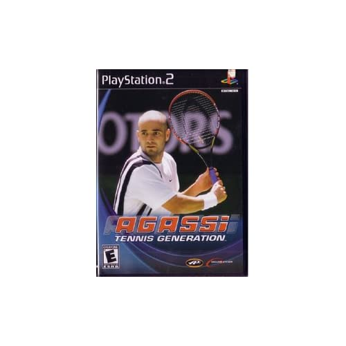 Agassi Tennis For PlayStation 2 PS2