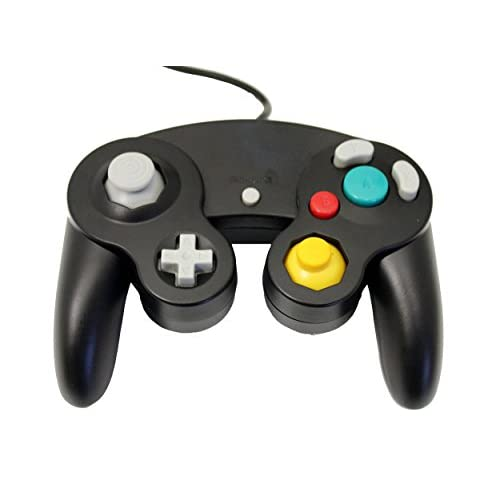 Image 0 of GameCube USB Controller Black For Windows MAC And Linux By Mars Devices