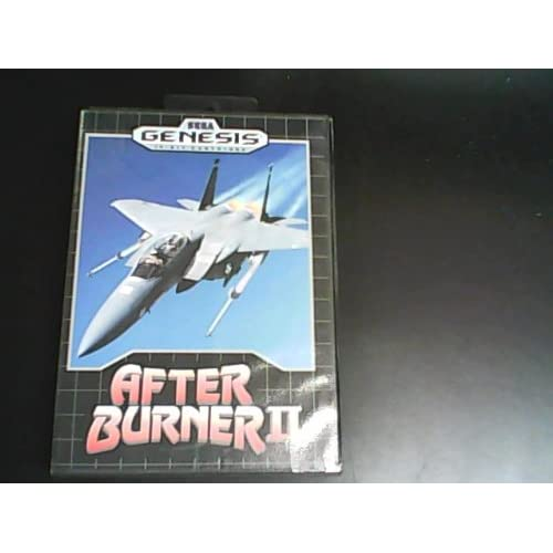 After Burner II For Sega Genesis Vintage