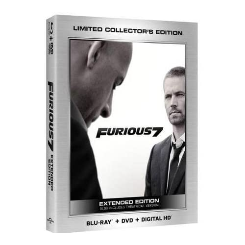 Image 0 of Furious 7 Blu-Ray Digital HD Limited Edition On Blu-Ray