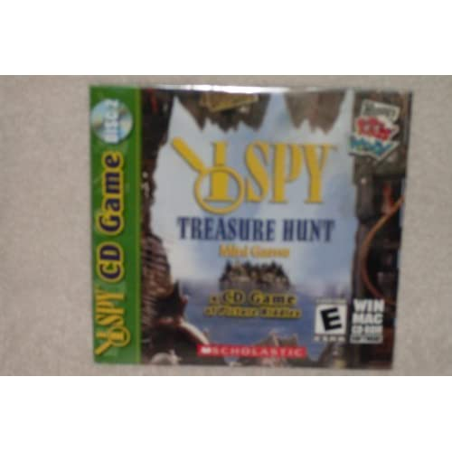 Image 0 of I Spy CD Game Treasure Hunt Mini Game Wendy's Kids' Meal Software