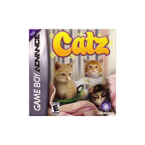 Catz For GBA Gameboy Advance Strategy