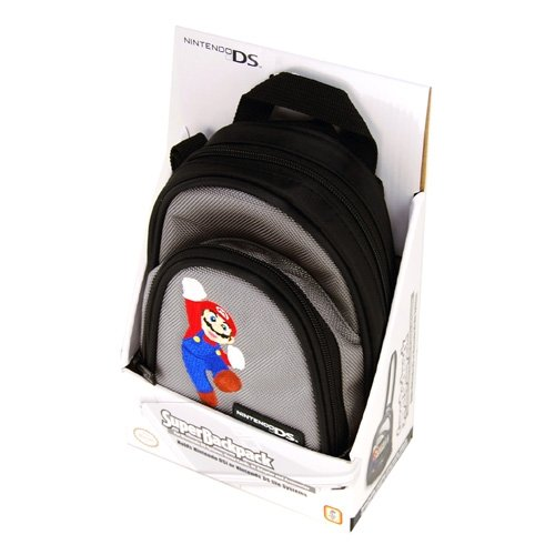 Image 0 of Lite/dsi Mario Super Backpack For DS Blue