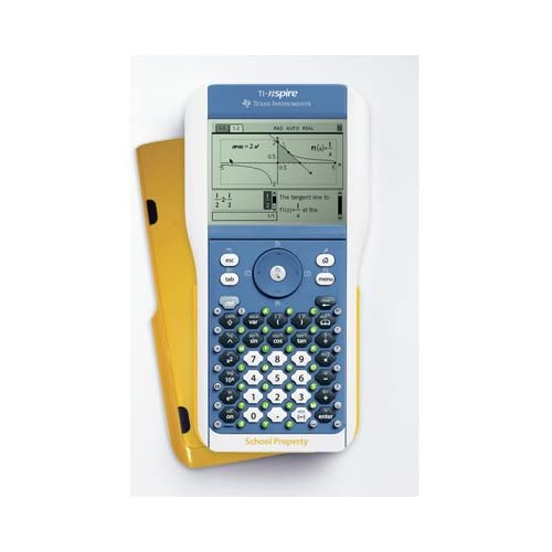Image 0 of Ti-Nspire Teacher Calculator Yellow Model
