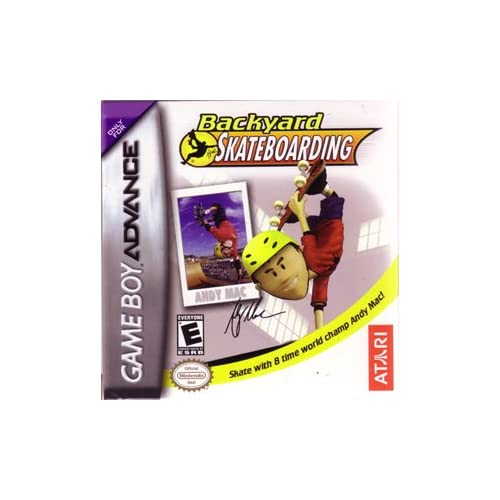 Backyard Skateboarding For GBA Gameboy Advance Extreme Sports