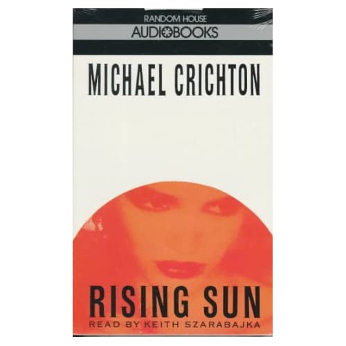 Image 0 of Rising Sun By Michael Crichton On Audio Cassette