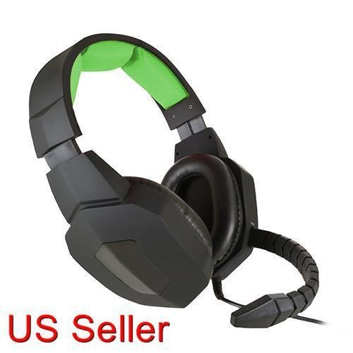Image 0 of KMD Live Chat Headset Pro Gamer Headset For Xbox One New In Box Microphone Mic