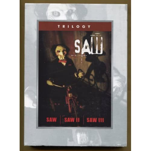 Image 0 of Saw Trilogy 1 2 3 Full Screen Edition Cc Rated R 3 Disc Set On Blu-Ray