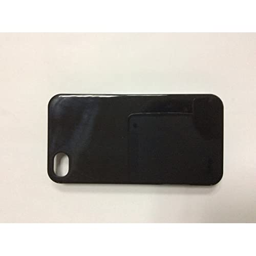 Image 0 of iConcepts Hardshell Case For iPhone 4/4S Black  Cover