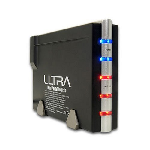 Image 0 of Ultra ULT31310 3.5-inch USB 2.0/FIREWIRE Hard Drive Enclosure Case/Enclosure