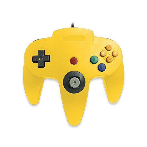 Image 0 of Generic N64 Wired Classic Controller Yellow