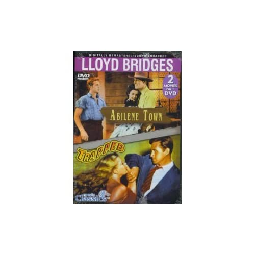 Image 0 of Abilene Town / Trapped Double Feature On DVD With Lloyd Bridges