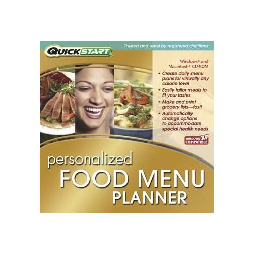 Image 0 of Quickstart: Personalized Food Menu Planner On Audio CD Software