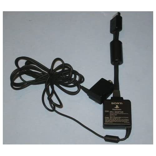 Sony SCPH-1121 PlayStation RFU Adaptor For PlayStation 2 PS2 Black
