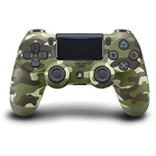 Image 0 of Dualshock 4 Wireless Controller For PlayStation 4 Green Camouflage PS4