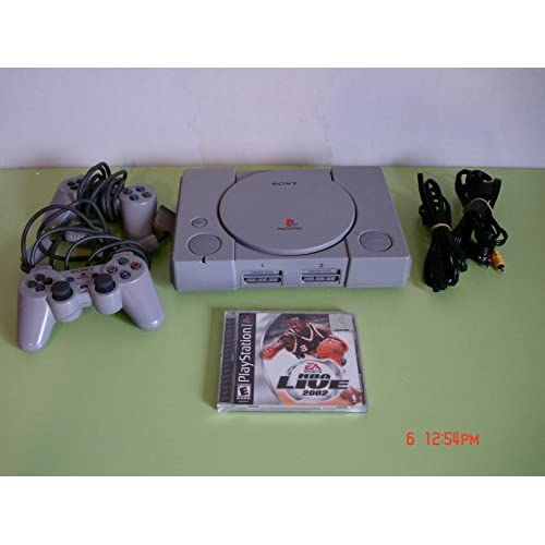 Sony PlayStation Ps One Video Game Console W/game
