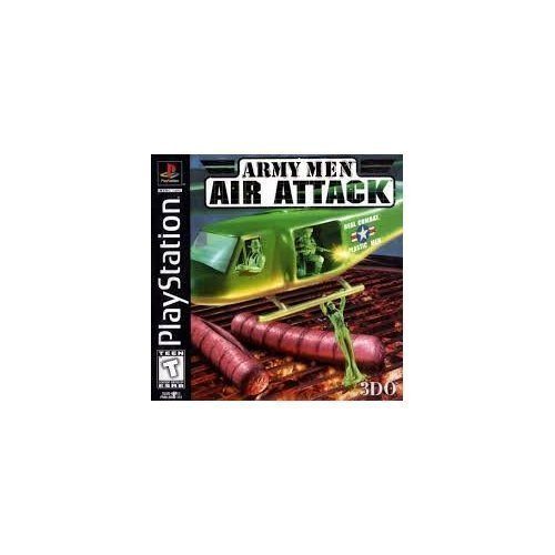 Army Men Air Attack PS1 For PlayStation 1