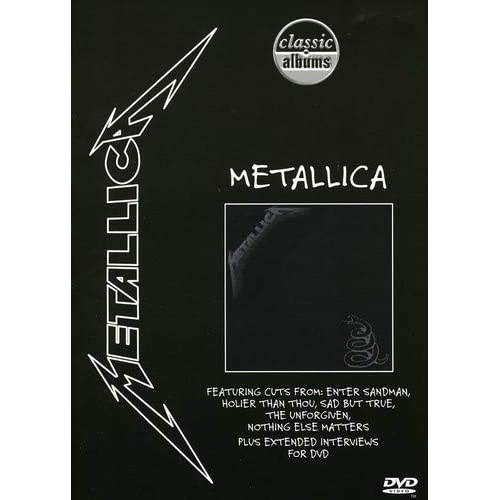 Image 0 of Classic Albums Metallica: Metallica On DVD