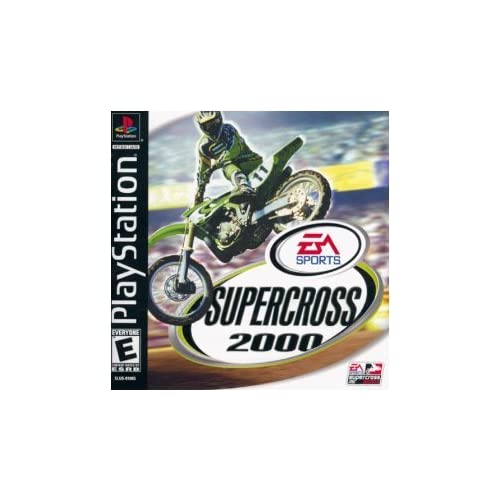 Supercross 2000 For PlayStation 1 PS1 Racing