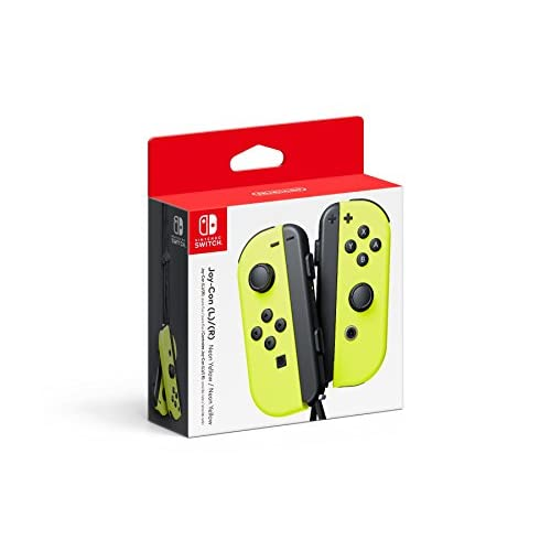 Image 0 of Nintendo Joy-Con L/r Neon Yellow Gamepad ZXU290 For Nintendo Switch