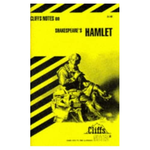 CliffsNotes On Shakespeare's Hamlet By Lowers James K Book Paperback