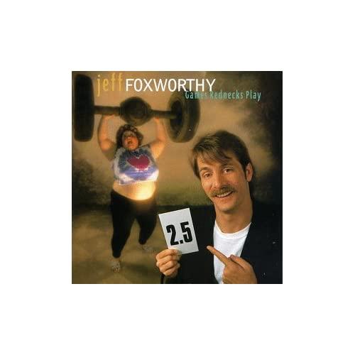 Image 0 of Games Rednecks Play By Jeff Foxworthy On Audio Cassette