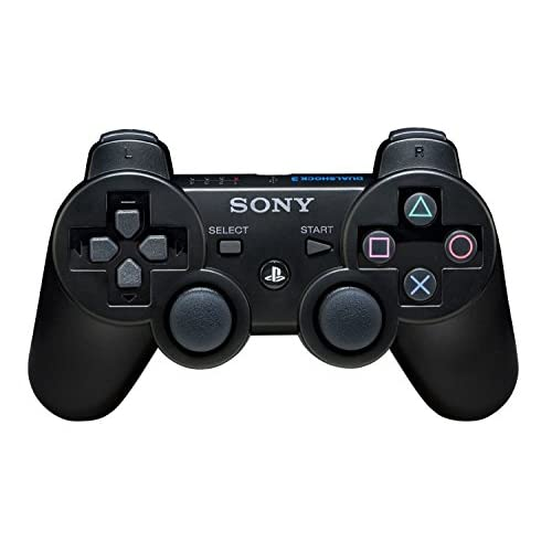 Image 0 of Sony Dualshock 3 Controller Black For PlayStation 3 PS3 Gamepad ACL685