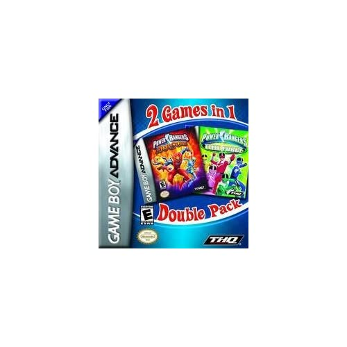 Image 0 of Power Rangers Dual Pack: Time Force / Ninja Storm For GBA Gameboy Advance