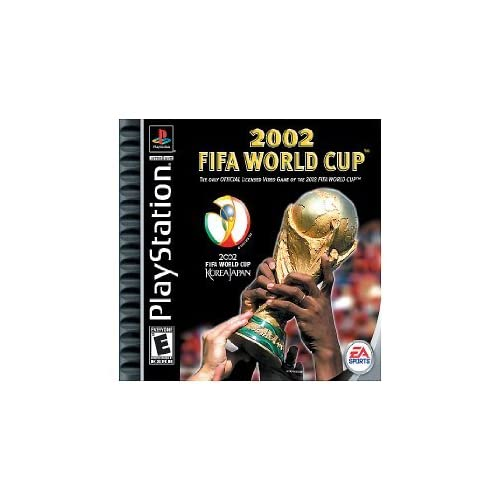 2002 FIFA World Cup For PlayStation 1 PS1 Soccer