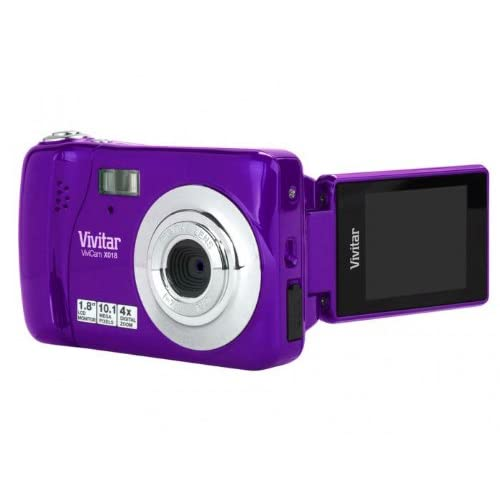Vivitar Vivicam X018 Grape VX018-GRP Camera Purple Point &
