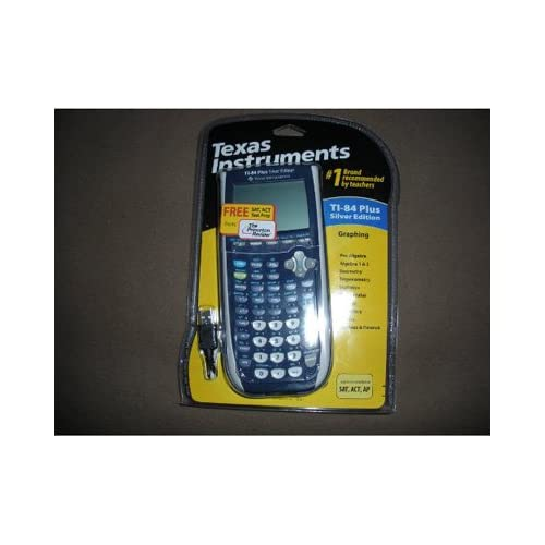 Texas Instruments Inc TI-84 Plus Silver Edition Graphing Calculator