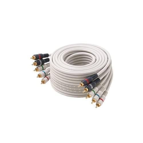 5-RCA Component Video/Audio Cable 6 Feet
