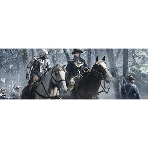 Image 2 of Assassin's Creed III For Wii U With Manual and Case