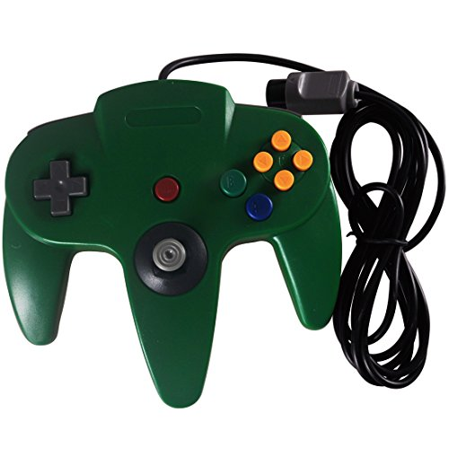 Image 0 of Replacement Nintendo 64 Classic Wired Controller Green Gamepad For N64