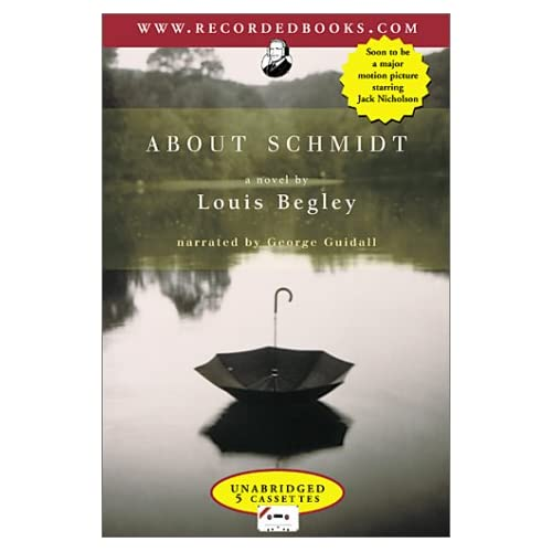 Image 0 of About Schmidt By Begley Louis Guidall George Narrator On Audio Cassette