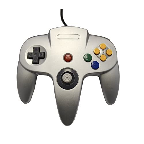 Image 0 of Nintendo N64 Silver Replacement Controller By Mars Devices For N64 Gamepad