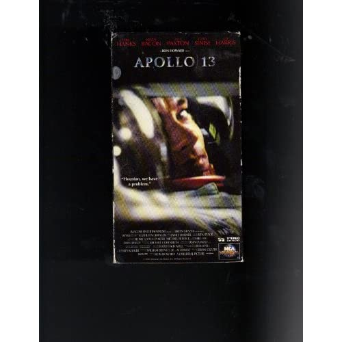Apollo 13 On VHS With Tom Hanks