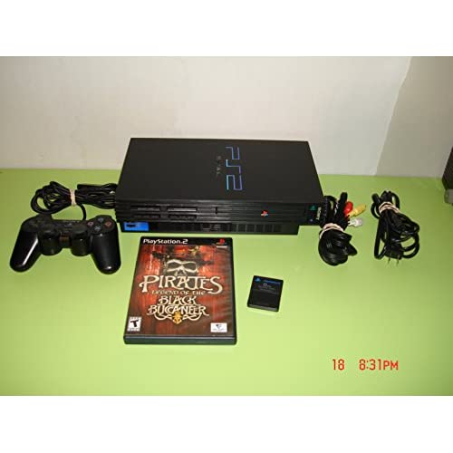 PS2 Phat Console Black W/1 Game