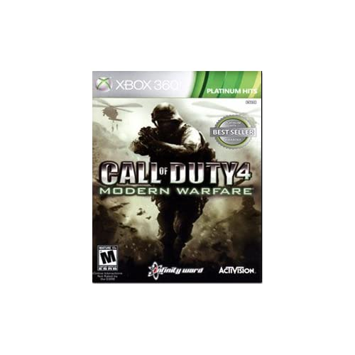 Call Of Duty 4: Modern Warfare Game Of The Year Edition For Xbox 360 COD Shooter