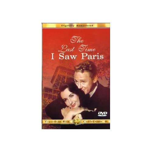 Image 0 of The Last Time I Saw Paris On DVD With Elizabeth Taylor