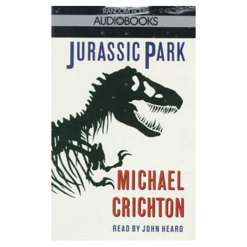 Image 0 of Jurassic Park By Michael Crichton And John Heard Reader On Audio Cassette