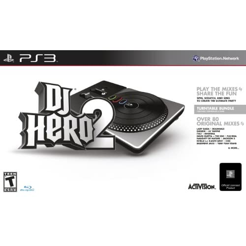 Image 0 of DJ Hero 2 Turntable Bundle For PlayStation 3 PS3 BGQ192