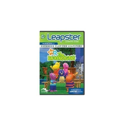 Leapster Backyardigans Game Toys For Leap Frog