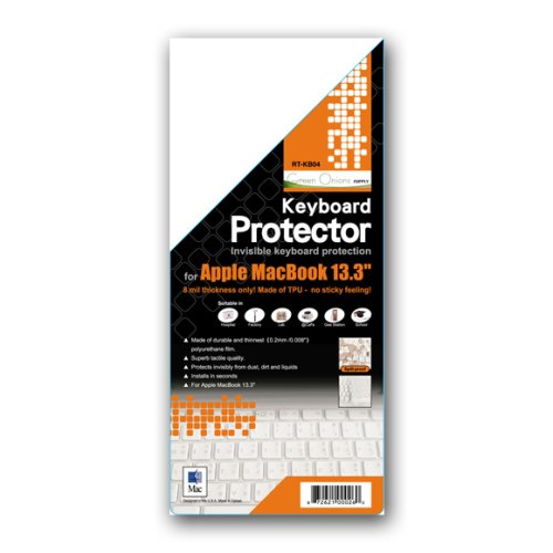 Image 0 of Keyboard Protector For Apple Macbook Air And 13.3-inch Keyboard -1 Piece Transpa