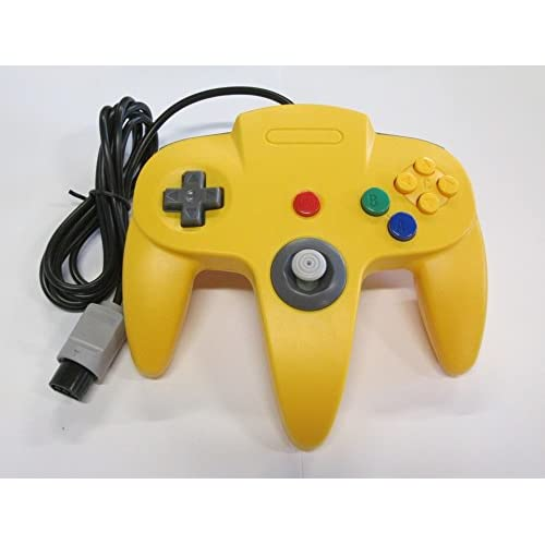 Image 0 of Yellow Replacement Controller For Nintendo N64 By Mars Devices