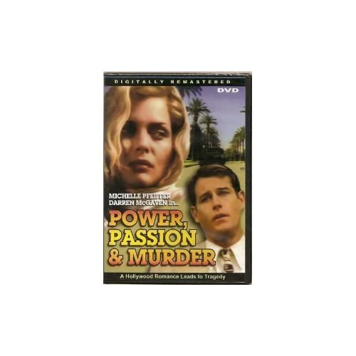 Image 0 of Power Passion & Murder Slim Case On DVD with Michelle Pfeiffer
