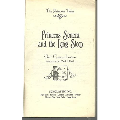 Image 3 of Princess Sonora And The Long Sleep The Princess Tales By Gail Carson