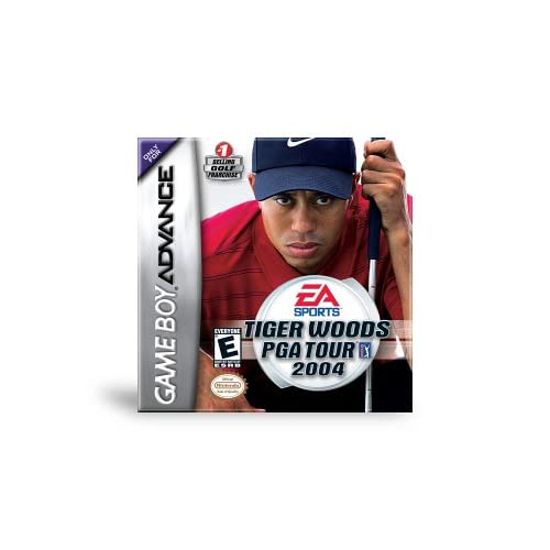 Image 0 of Tiger Woods PGA Tour 2004 Game Boy Advance For GBA Gameboy Advance Golf
