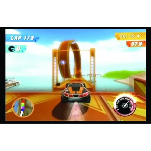 Image 2 of Hot Wheels Track Attack For Wii With Manual And Case