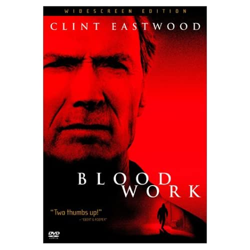 Image 0 of Blood Work Widescreen Edition On DVD With Becker Gerry